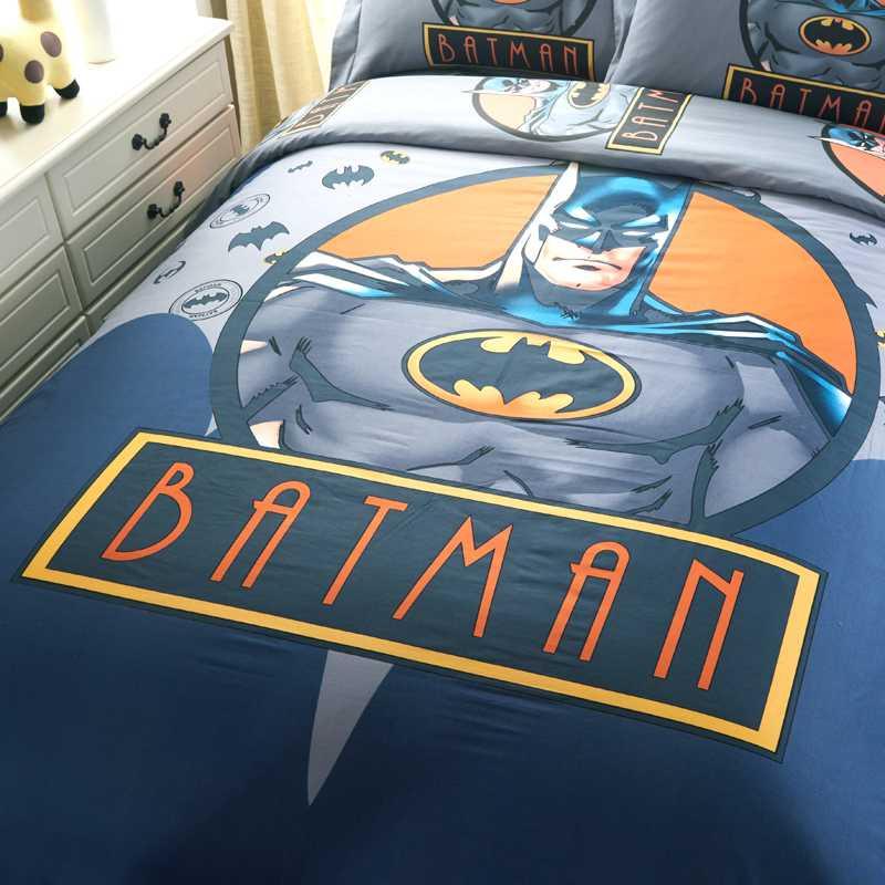 Youth Kids Bedroom Batman Dark Knight Twin Size Platform: Batman Comforter Set Twin Queen King Size