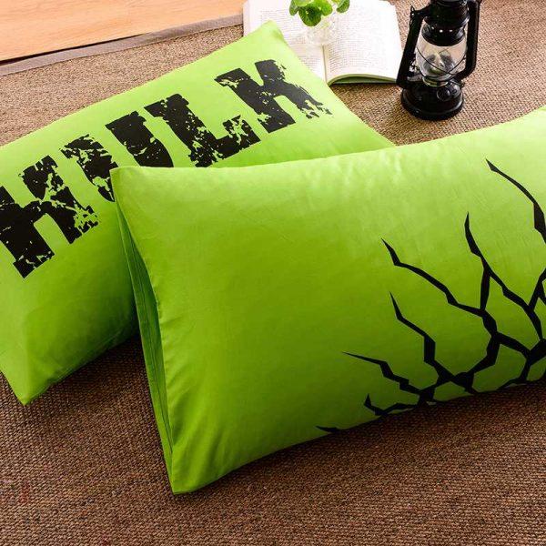 Incredible Hulk Bedding Set Queen Size