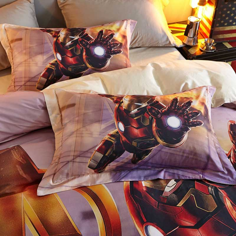 Iron Man Bedding Sets For Teens Super Heroes Bedding