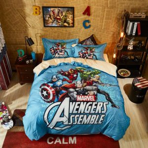 Marvel Avengers Queen size Bedding Set For Teens (1)