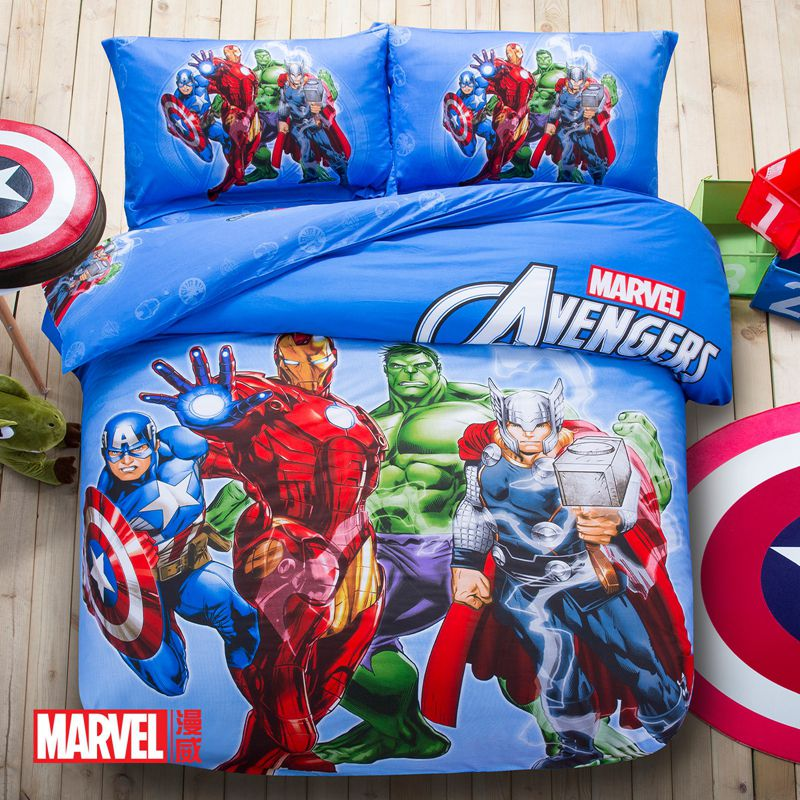 Super Heroes Bedding