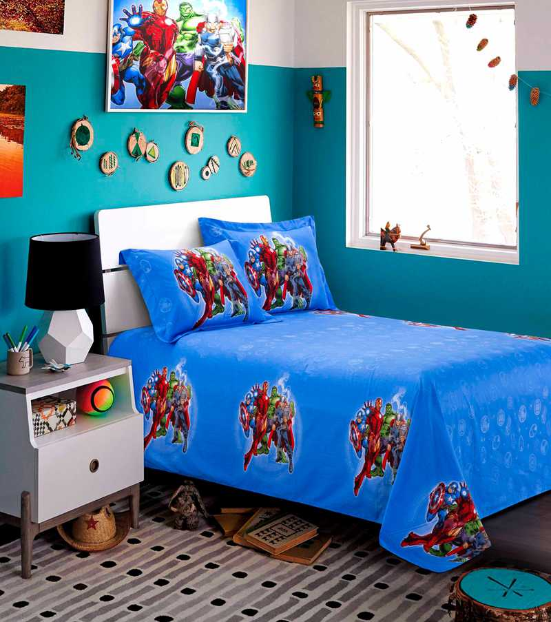 Super Heroes Bedding