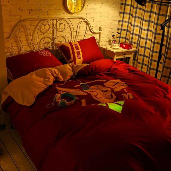 Marvel Iron Man Bedding Queen Size