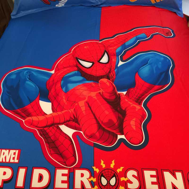 Marvel Super Hero Spider Man Bedding set For kids ...