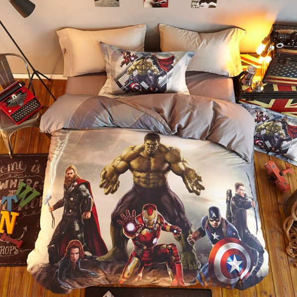 Marvel super Heroes Comforter Set