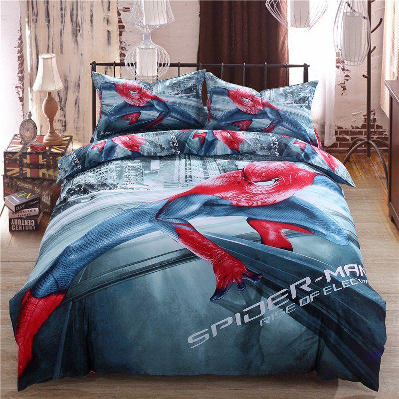 iron man single bedding