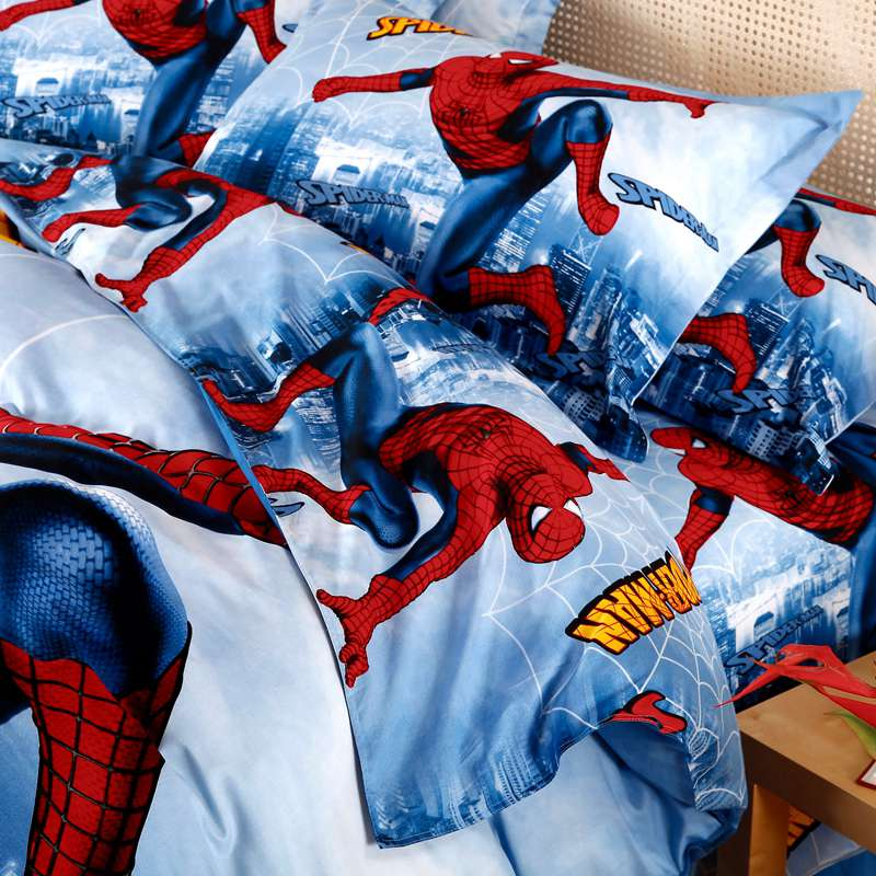 The Amazing Spider Man Comforter Set Twin Queen King Size
