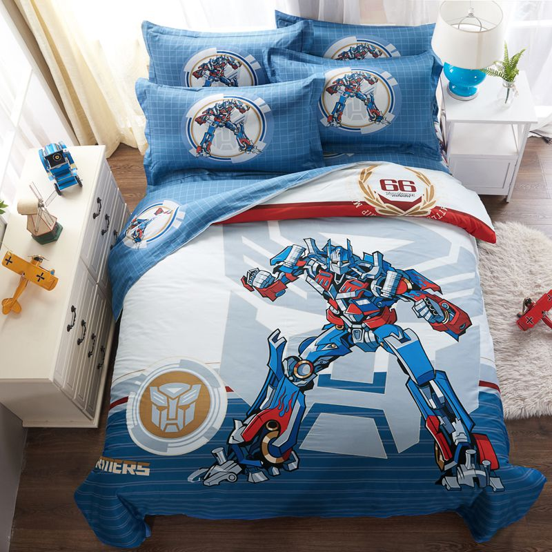 Transformers Bedding Set Twin