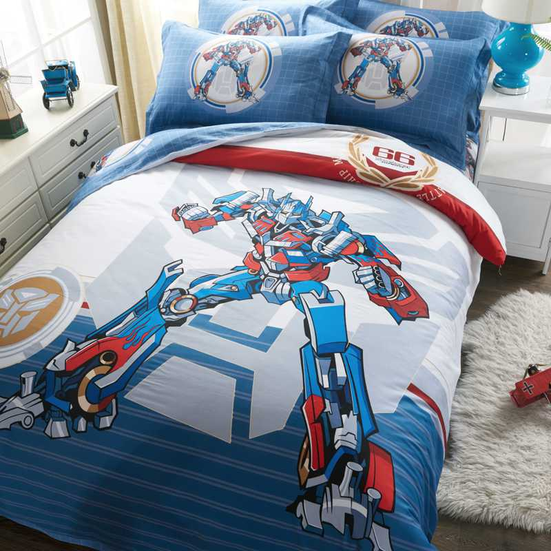 Transformers Bedding Sets Twin Queen King Size Comforter Set