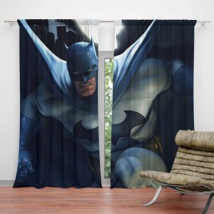 Batman Kids Bedroom Curtain