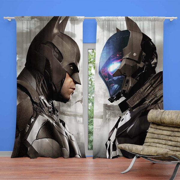 Batman vs Black Panther Bedroom Curtain