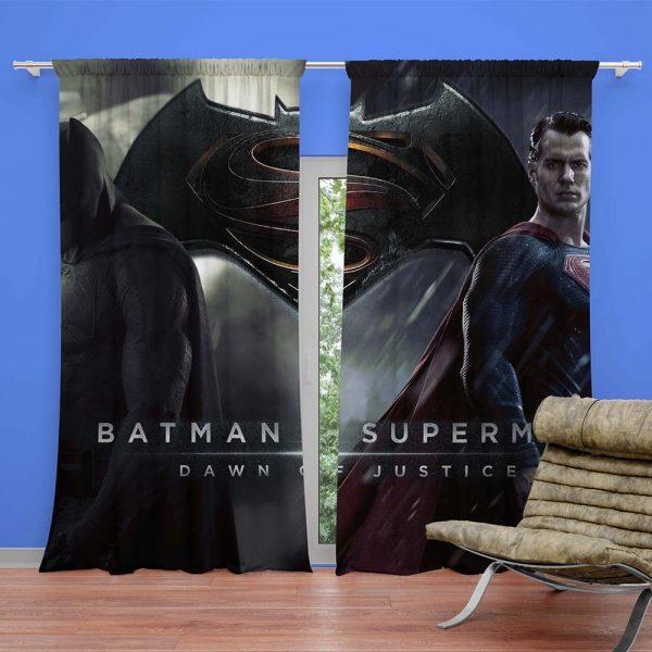 Batman vs Super Man Dawn of Justice Curtain