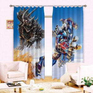 Transformers Curtain For Kids and Teen Bedroom