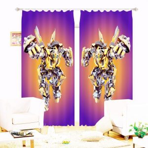 Kids Transformers Bedroom Curtain