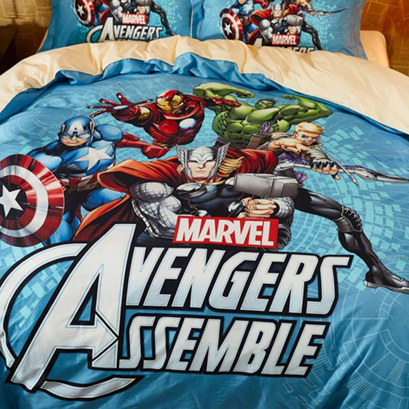 Marvel Avengers Assemble Bed In A Bag Twin Queen Bedding Set