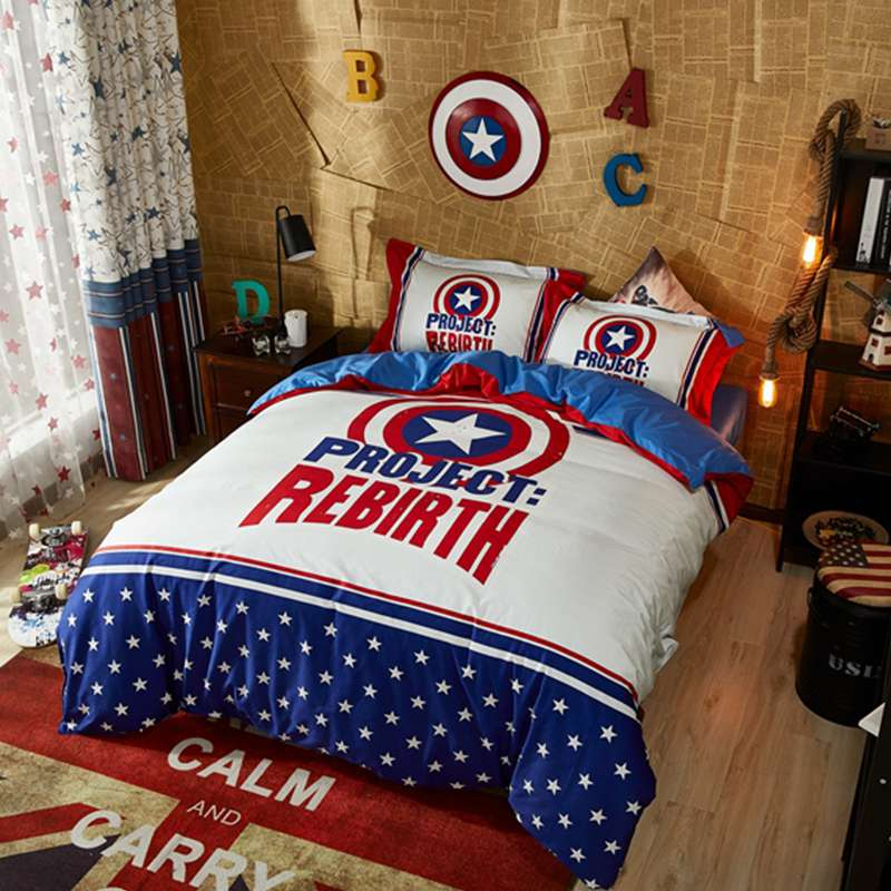 Marvel Avengers Captain America Civil War Bedding Set Twin