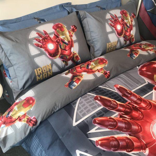 Marvel Iron Man Comforter Set Twin Queen Size