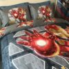 Marvel Iron Man Comforter Set Twin Queen Size (4)
