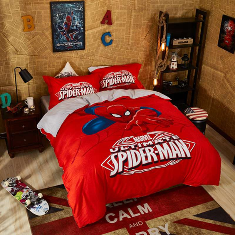 Marvel Ultimate Spider Man Bed In A Bag Twin Queen Size Set