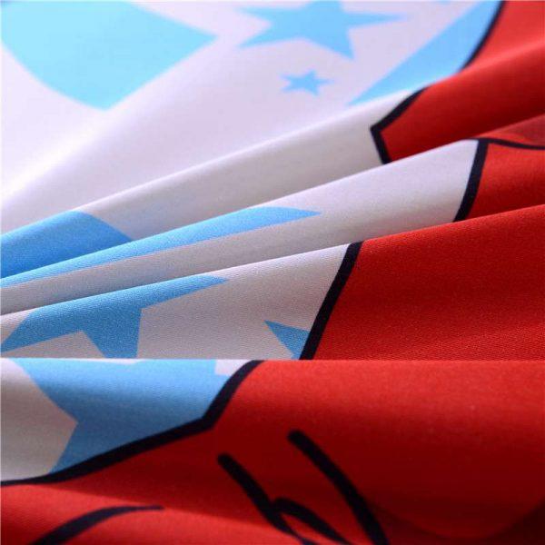 Super Hero Captain America Bedding Set Twin Queen Size