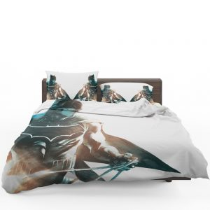 All Star Batman Justice League Art Bedding Set