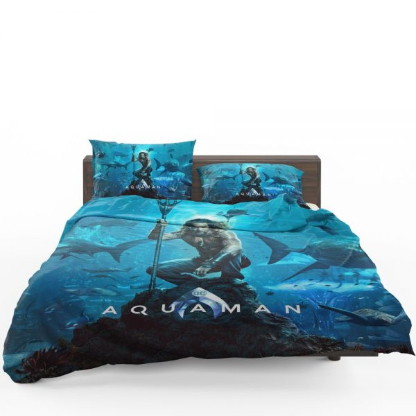 Aquaman Justice League Jason Momoa Bedding Set