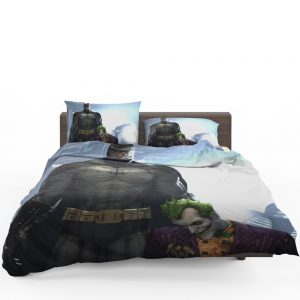 Arkham Asylum Video Game Batman and Joker Bedding Set