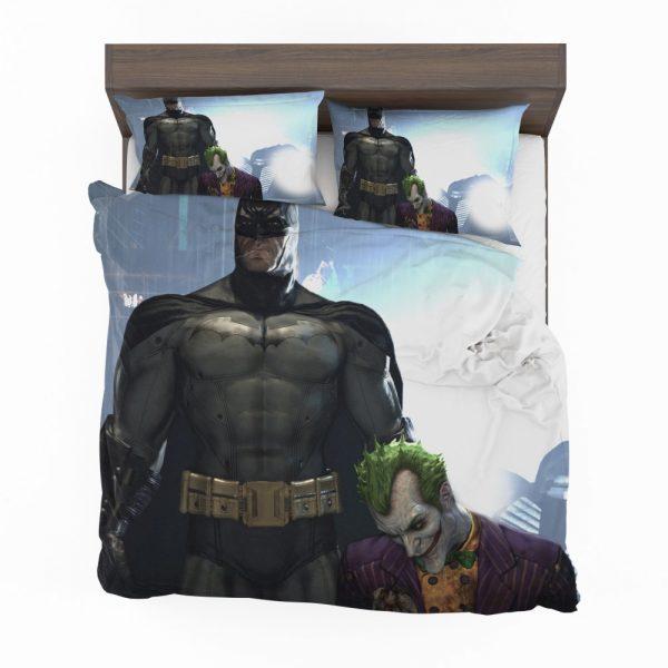 Arkham Asylum Video Game Batman and Joker Bedding Set