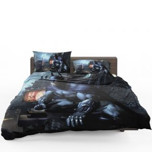 Arkham City Video Game Batman Bedding Set