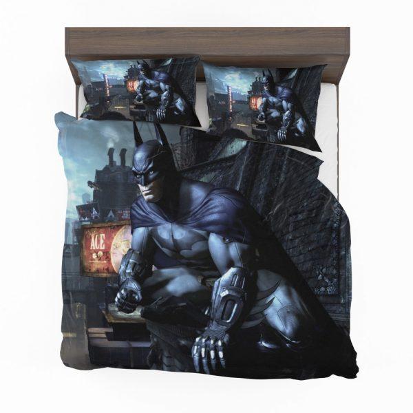 Arkham City Video Game Batman Bedding Set