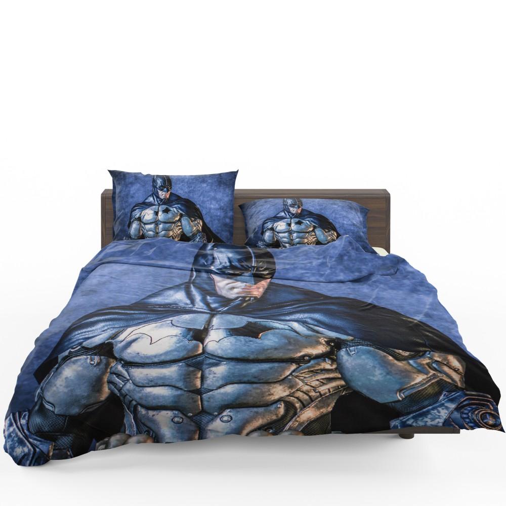 Unique Batman Vs Superman Bedroom Ideas That Rock: Batman Characters Arkham City Bedding Set