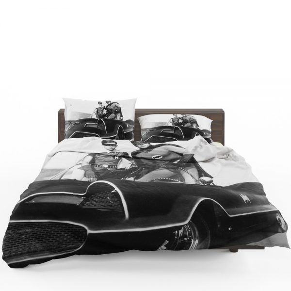 Batman Robin TV Show DC Comics Adam West Burt Ward Bedding Set