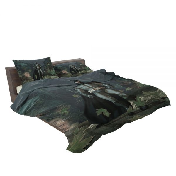 Batman Video Game Arkham Asylum Bedding Set