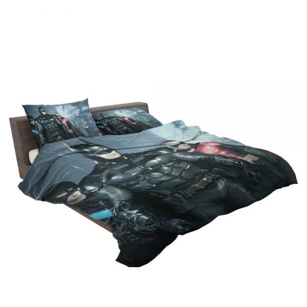 Batman and Robin Arkham Night Video Game Bedding Set