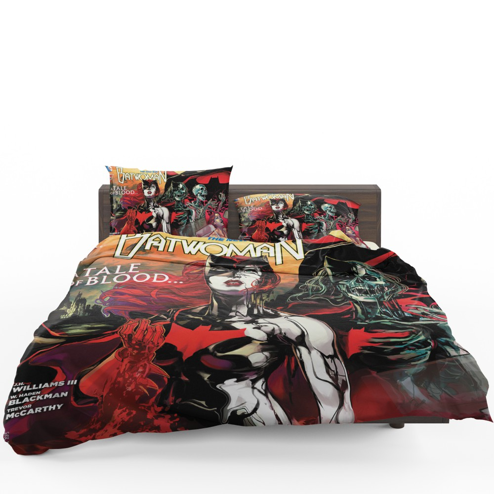 Attractive Batwoman TV Series This Blood Is Thick Bedding Set
