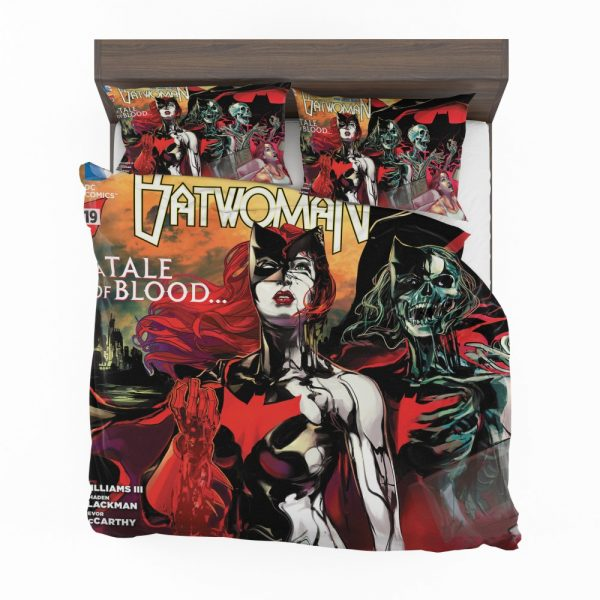 Batwoman TV series This Blood is Thick Bedding Set