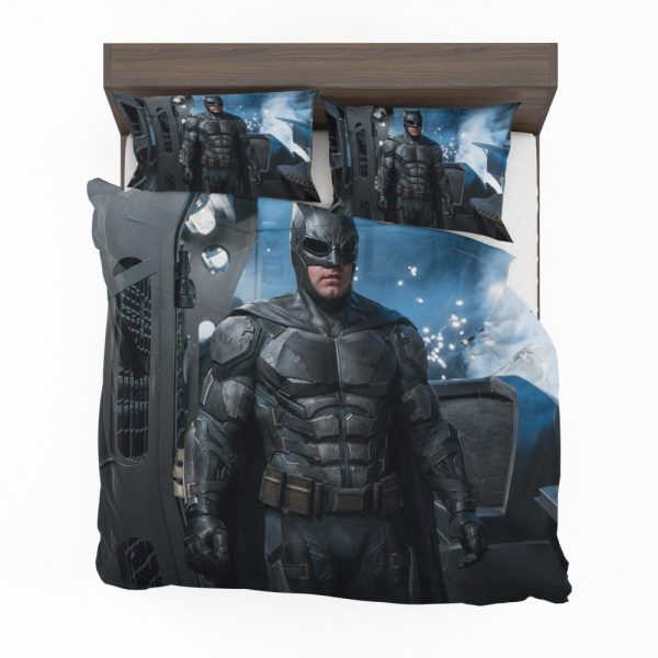 Ben Affleck Batman Bruce Wayne Justice League Comforter Set
