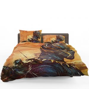 Black Panther Artwork Marvel Comics Bedding Set
