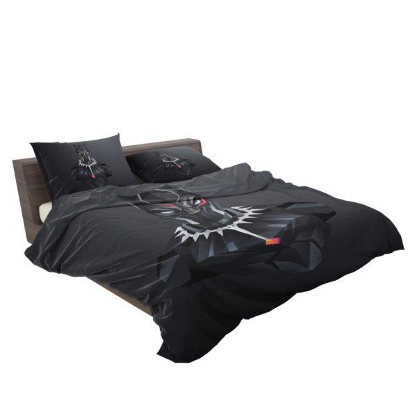 Black Panther Dark Black Artwork Bedding Set