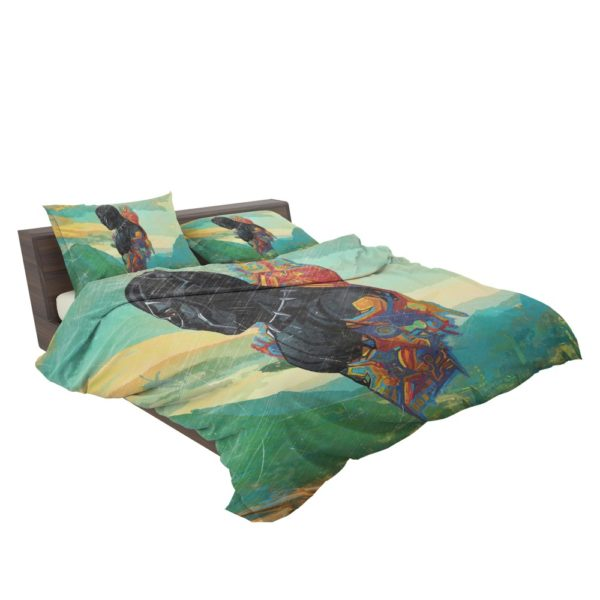 Black Panther T'Challa King Of Wakanda Bedding Set