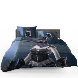 Catwoman Animated Design Bedding Set