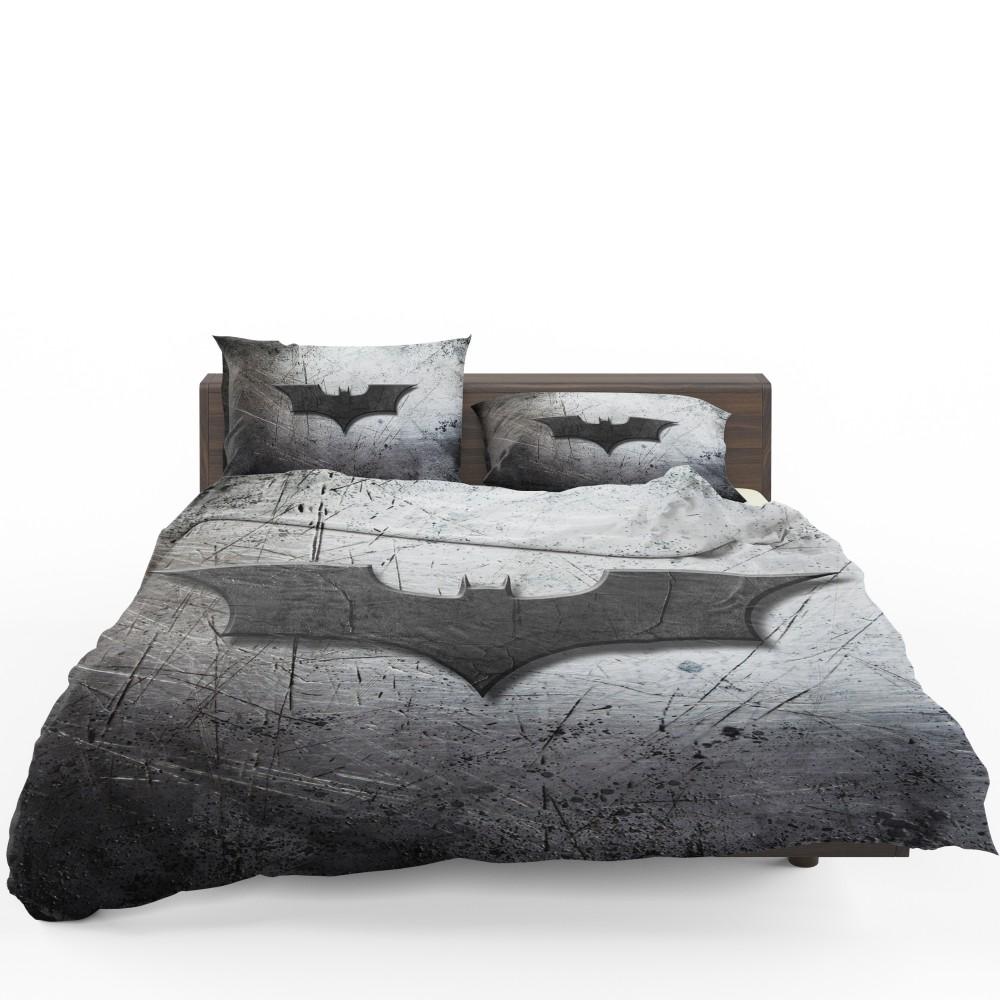 Unique Batman Vs Superman Bedroom Ideas That Rock: DC Comics Batman Logo Bedding Set