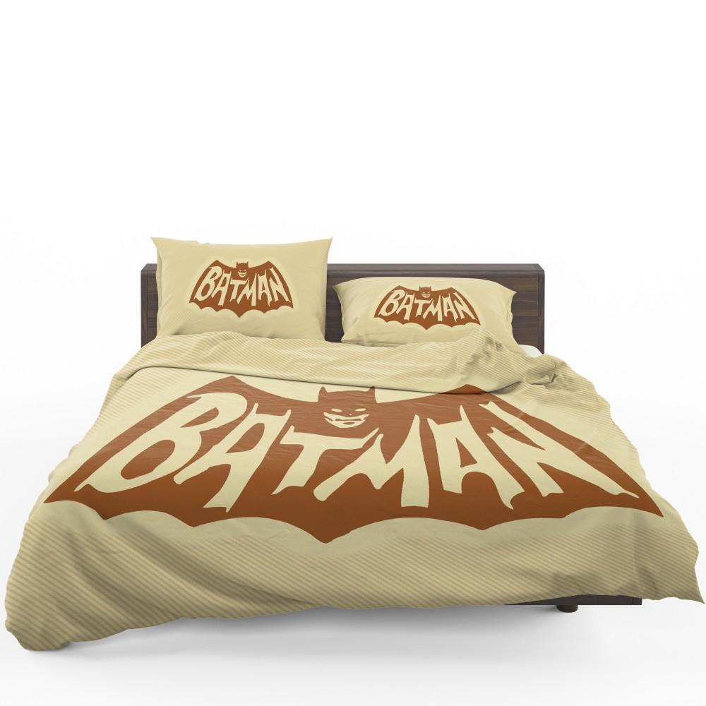 Dc Comics Men S Batman Classic Tv Show Logo Bedding Set