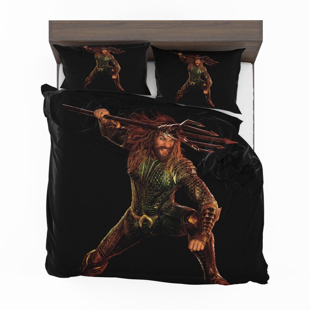Aquaman Jason Momoa Bedding Set