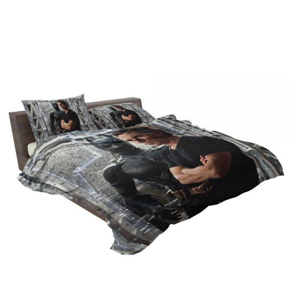 Dark Knight Rises Film Star Christian Bale Bedding Set