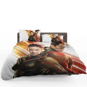 Evangeline Lilly and Paul Rudd Ant-Man Movie Bedding Set