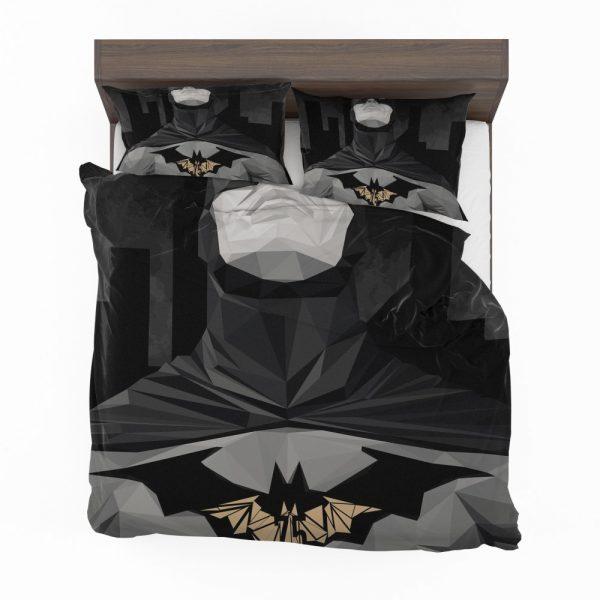Geometric Batman Movie Comics Bedding Set