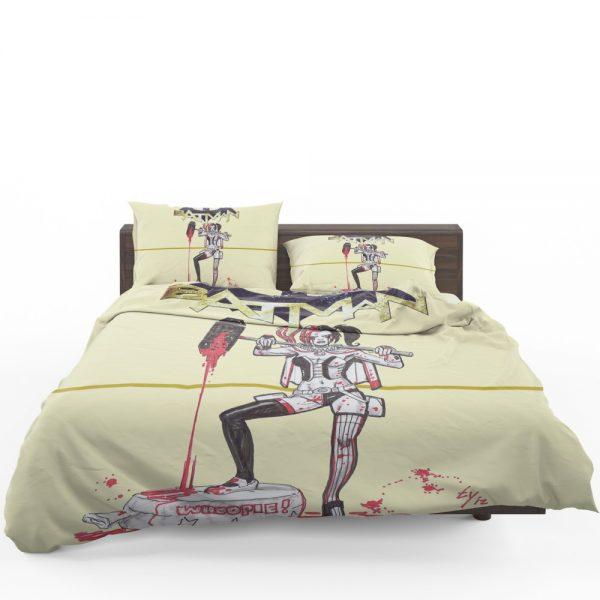 Harley Quinn DC Comics Batman Theme Bedding Set