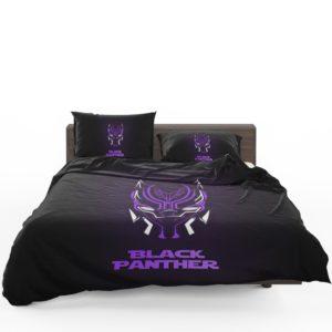 Marvel Avenger Black Panther Purple Dark Bedding Set