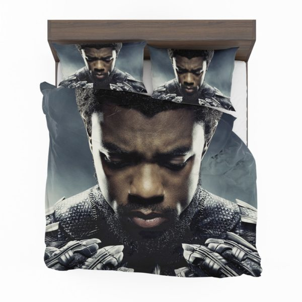 Marvel Black Panther T'Challa Chadwick Boseman Bedding Set
